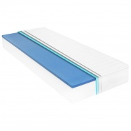 Materac, 90x200 cm, pianka memory visco, 18 cm