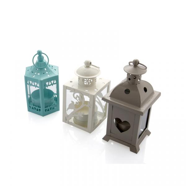 Mini latarnia na tealight Brandani Mini Lanterna multikolor 55840