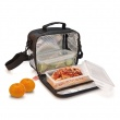 Mini Lunch Box Iris School czarny 9220-T