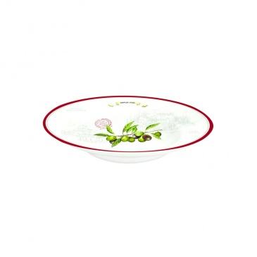 Misa porcelanowa Nuova R2S Bistrot Olives duża