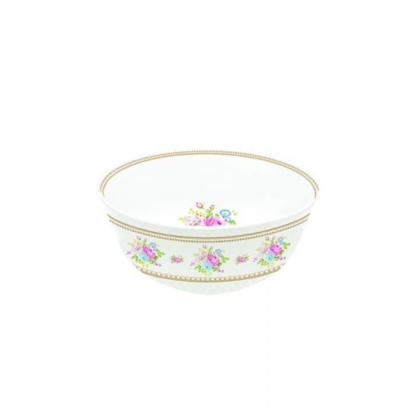 Miseczka z porcelany 11,5 cm Nuova R2S Vintage Bouquet biała 1153 WHIT