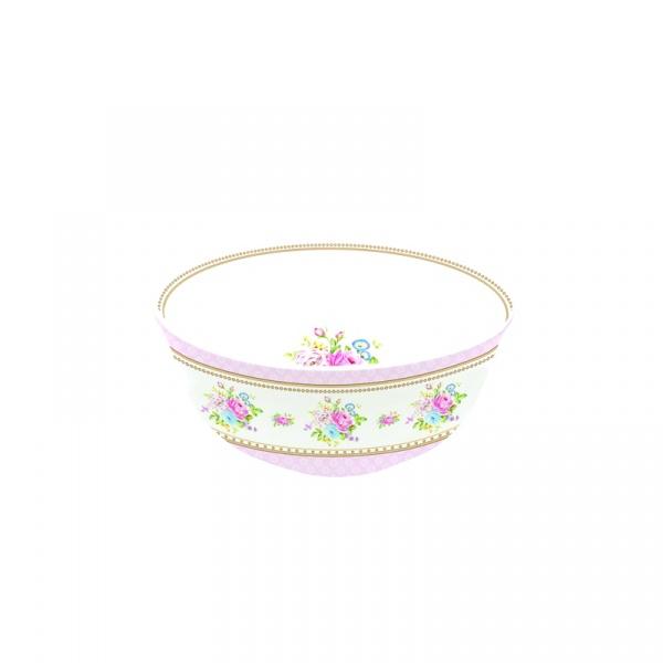 Miseczka z porcelany 11,5 cm Nuova R2S Vintage Bouquet różowa 1153 PINK