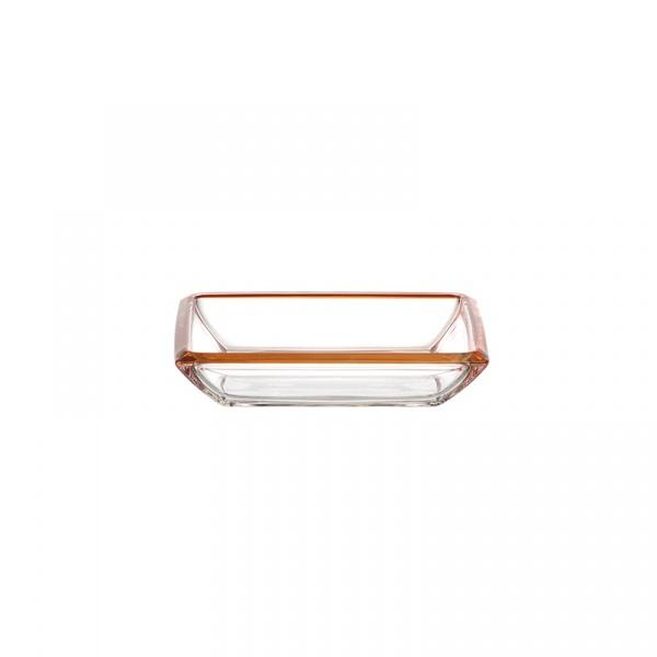 Miska 19,5 cm Leonardo Corner pomarańczowa 045430