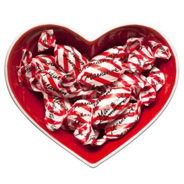 Miska ceramiczna serce Sagaform Christmas
