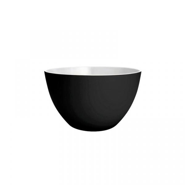 Miska kuchenna 18 cm Zak! Designs mała biało-czarna 0535-5153