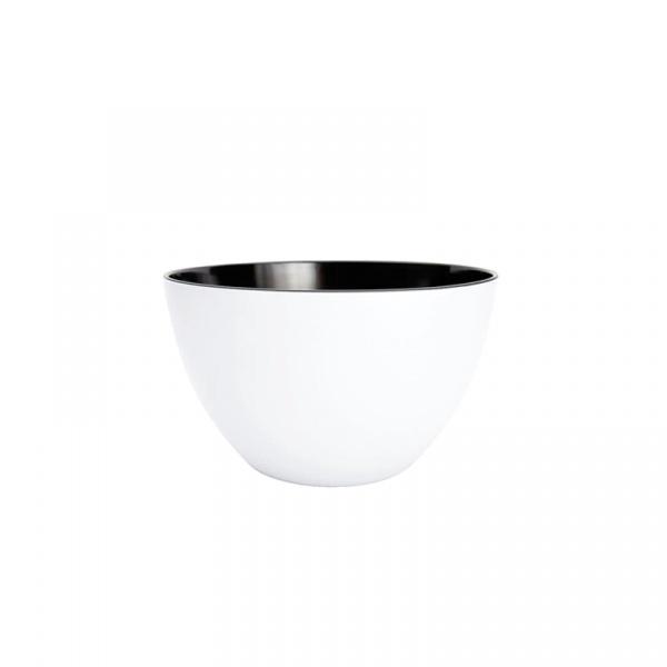 Miska kuchenna 18 cm Zak! Designs mała czarno-biała 0535-5152