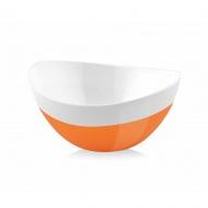 Miska Livio Duo owalna pomarańczowa 15 cm 20894
