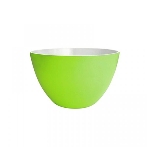 Miska na sałatki 22 cm Zak! Designs średnia biało-zielona 1283-1895