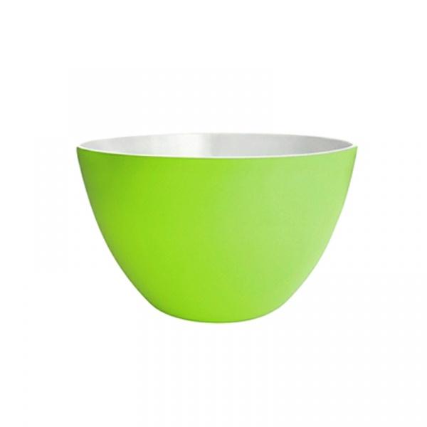 Miska na sałatki 28 cm Zak! Designs duża biało-zielona 1283-1896