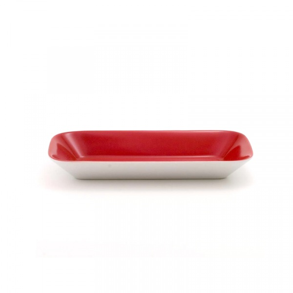 Miska prostokątna 18 x 9 cm Kahla Cumulus Osaka czerwona KH-427770A72670C