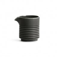 mlecznik, szary, ceramika, 0,25 l, wys. 9 cm