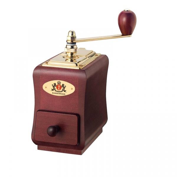 Młynek do kawy 20 cm Zassenhaus Santiago mahoniowy ZS-040111