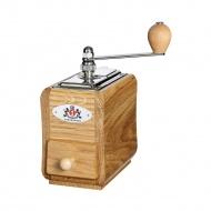 młynek do kawy, 9 x 14 x 20 cm, 30 g, drewno dębowe