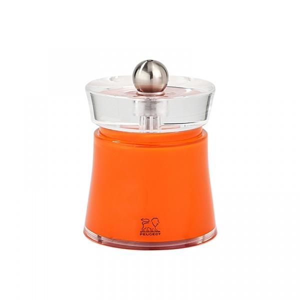 Młynek do soli 8 cm Peugeot Bali pomarańczowy P-28541