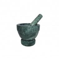 Moździerz marmurowy 12 cm Zest for Life zielony