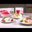 Naczynie do gotowania jajek OVO - sześcienne Lekue Tools czerwone 3402100R10U008