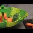 Naczynie do gotowania na parze Joseph Joseph Lotus Plus zielone 40023