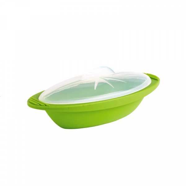 Naczynie do zapiekania Mastrad zielone średnie MA-F68388