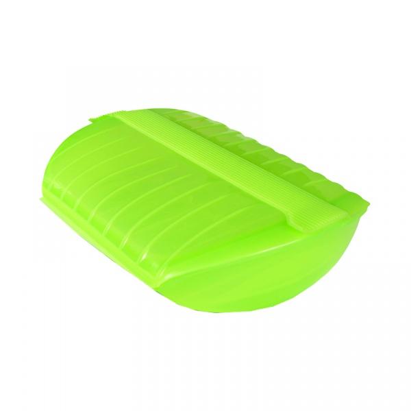 Naczynie żaroodporne z wkładką Lekue średnie zielone 3402600V09U004