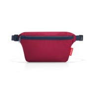 nerka beltbag S dark ruby