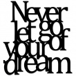 NEVER LET GO OF YOUR DREAM NLG1-1