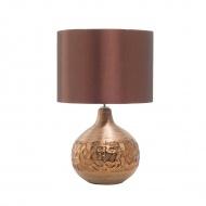 Nowoczesna lampka nocna - lampa stojąca w kolorze brązowym - Benussi