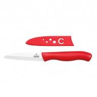 Nóż do warzyw i owoców 8 cm Zassenhaus czerwony