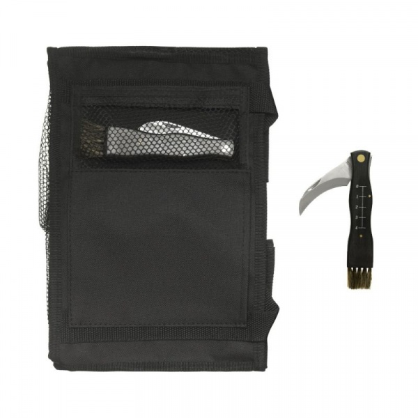 Nóż i torba do zbierania grzybów Sagaform Adventure SF-5015624