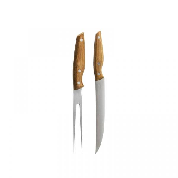 Nóż i widelec do mięs Sagaform Christmas SF-5016694