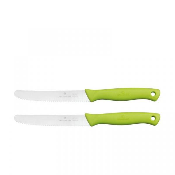Noże do smarowania 2szt Zassenhaus zielony ZS-077568