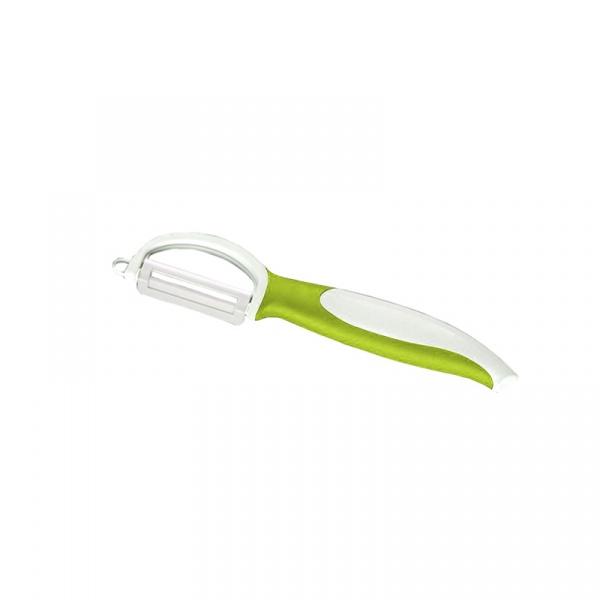 Obierak ceramiczny z ruchomym ostrzem 18,5 cm Zassenhaus zielony ZS-070200-ZIE