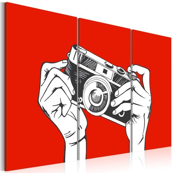 Obraz - A photographer (60x40 cm) A0-N2208