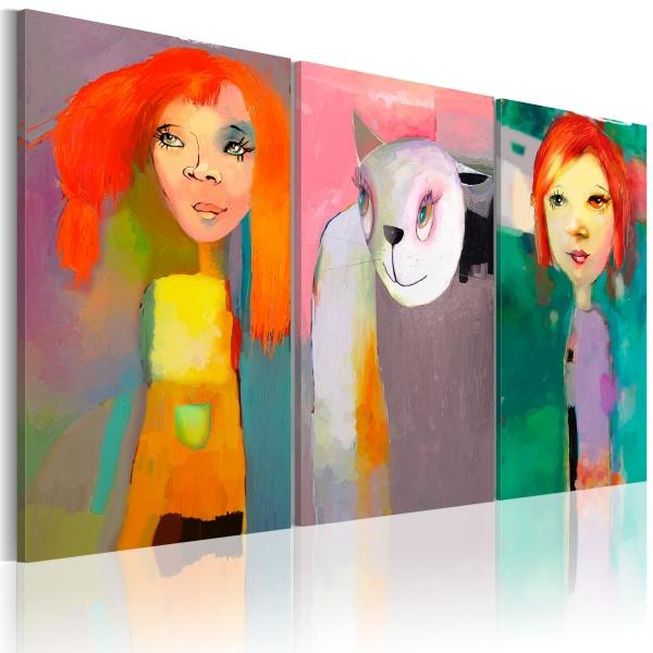 Obraz - Ala ma kota (60x40 cm) A0-N2682