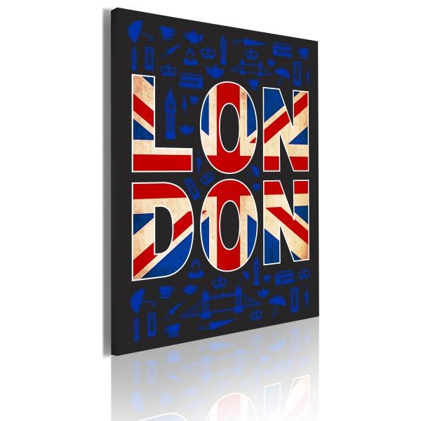Obraz - All about London (50x70 cm) A0-OBRPLK10