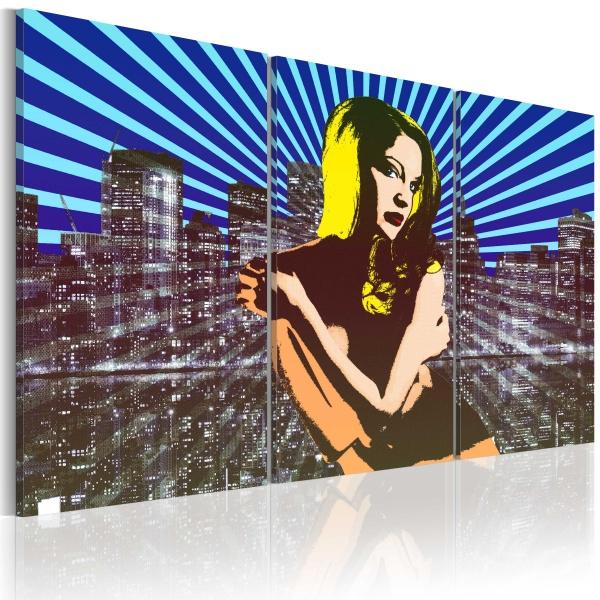 Obraz - American beauty - triptych (60x40 cm) A0-N2293