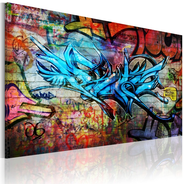 Obraz - Anonymous graffiti (60x40 cm) A0-N2600