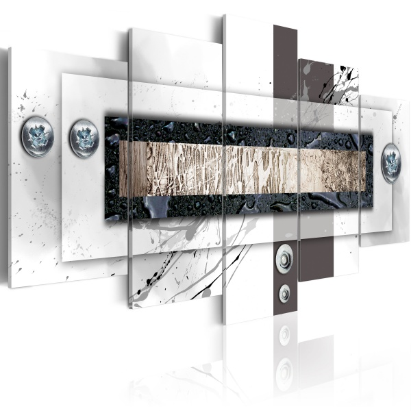 Obraz - Balans bieli (100x50 cm) A0-N2851