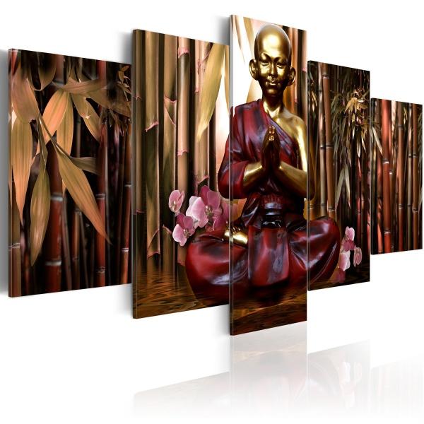 Obraz - Bamboo temple (100x50 cm) A0-N2359