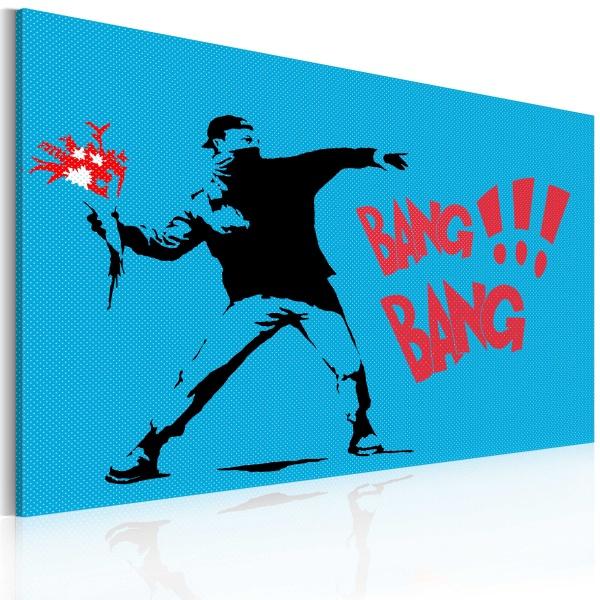 Obraz - Bang bang! (60x40 cm) A0-N2233