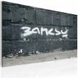 Obraz - Banksy: podpis A0-N1799