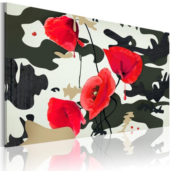 Obraz - Barwy wojenne (60x40 cm) A0-N2603