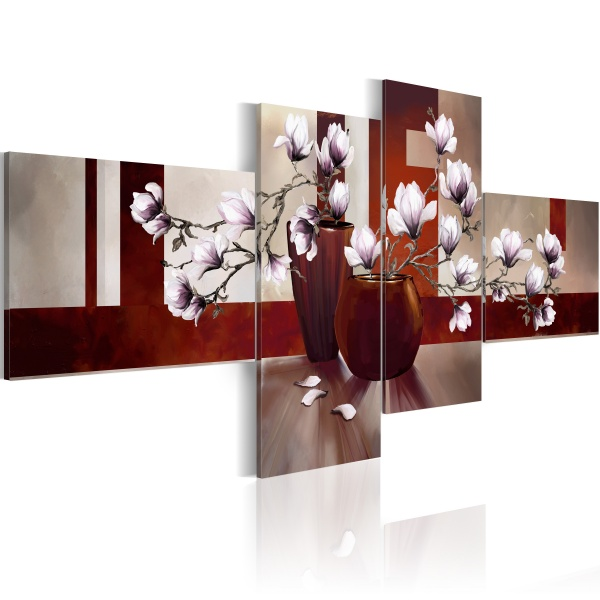 Obraz - Białe ukojenie (100x45 cm) A0-N2910