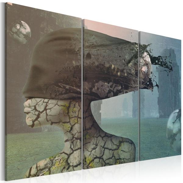 Obraz - Brainstorm - triptych (60x40 cm) A0-N2257