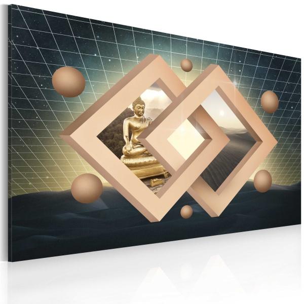 Obraz - Budda (abstrakcja) (60x40 cm) A0-N2547