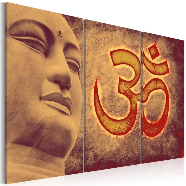 Obraz - Budda - symbol (60x40 cm) A0-N2291