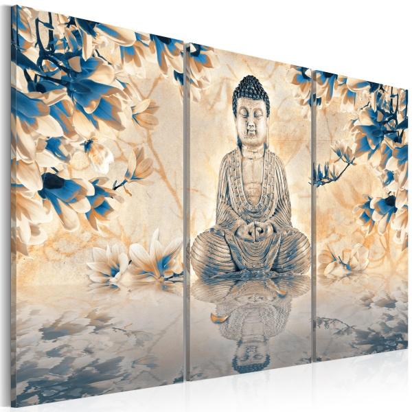 Obraz - Buddyjski rytuał (60x40 cm) A0-N2556