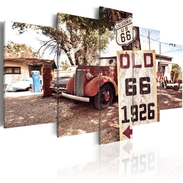 Obraz - California - vintage style (100x50 cm) A0-N2469