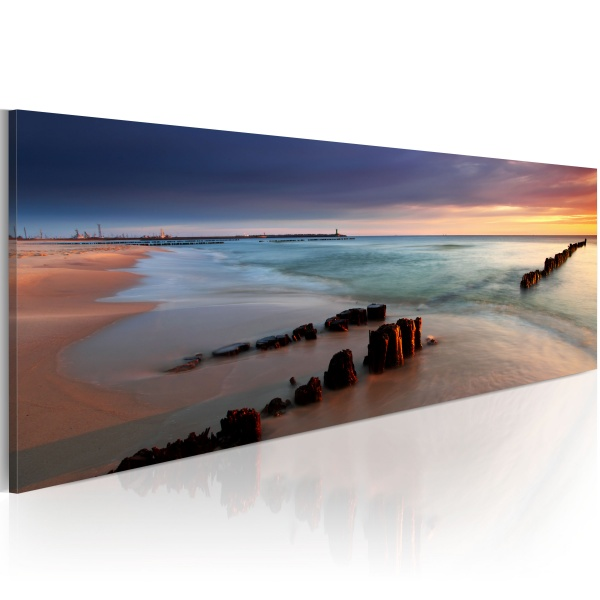 Obraz - Calm Baltic Sea (120x40 cm) A0-N2565