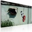 Obraz - Chłopiec na huśtawce (Banksy) A0-N1797