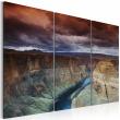 Obraz - Chmury nad Wielkim Kanionem Kolorado A0-N1549